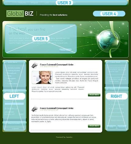 Website Template #Website design #23338