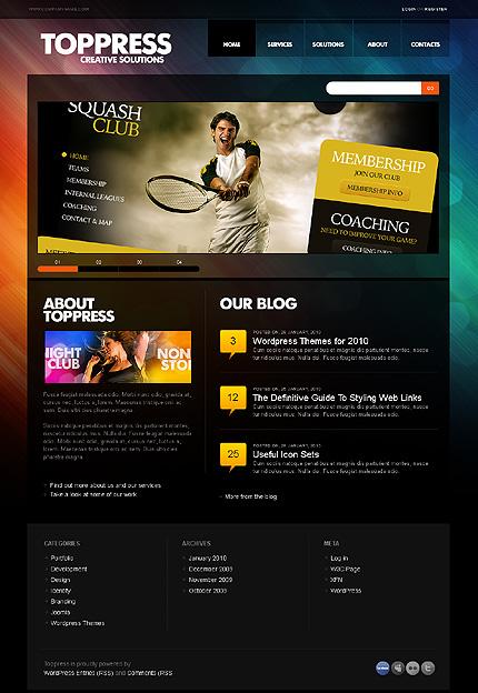 Website Template #Website design #27982