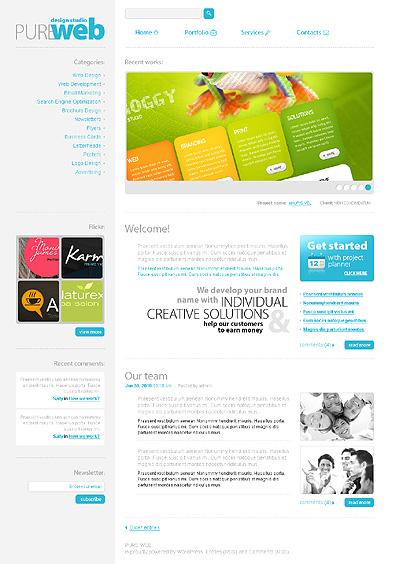 Website Template #Website design #30858