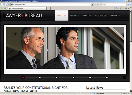 Website Template #Website design #32281
