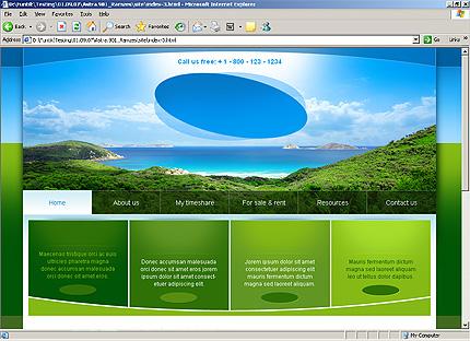Website Template #Website design #32314