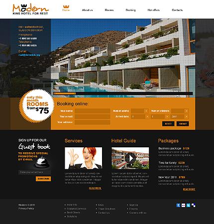 Website Template #Website design #32458