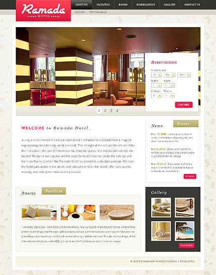 Website Template #Website design #32794