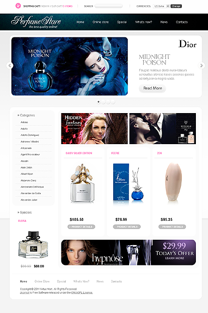 Website Template #Website design #33229