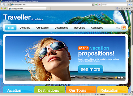Website Template #Website design #33280