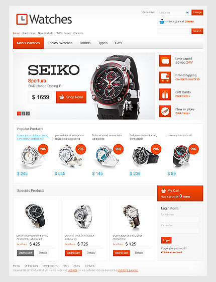 Website Template #Website design #33387