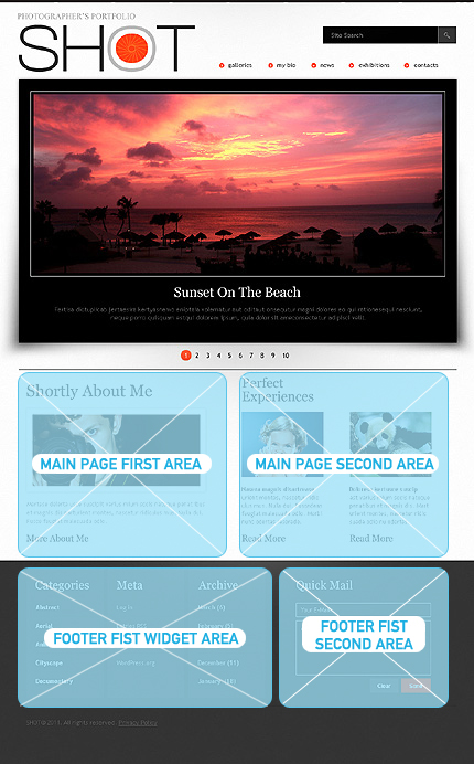 Website Template #Website design #33396