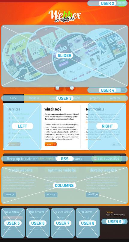 Website Template #Website design #33442