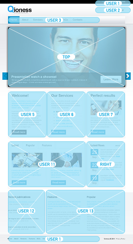 Website Template #Website design #33443