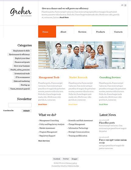 Website Template #Website design #35101