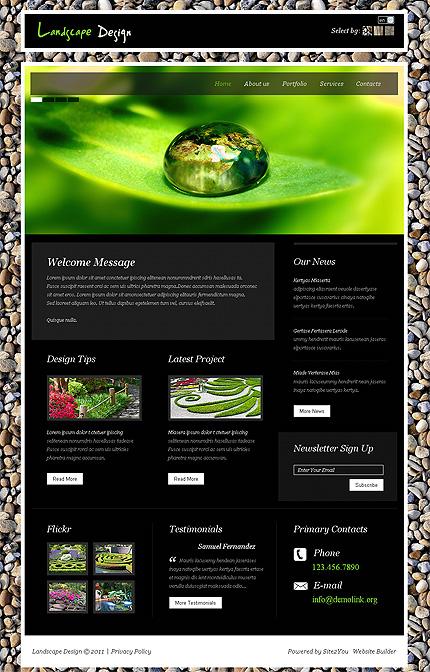 Website Template #Website design #36432