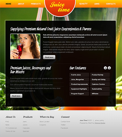 Website Template #Website design #36434