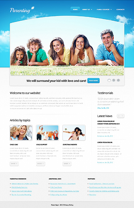 Website Template #Website design #38630