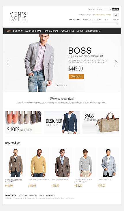 Website Template #Website design #39529