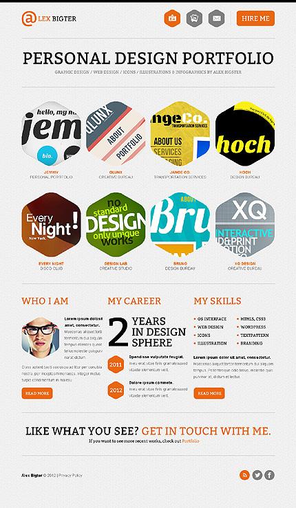 Website Template #Website design #40506