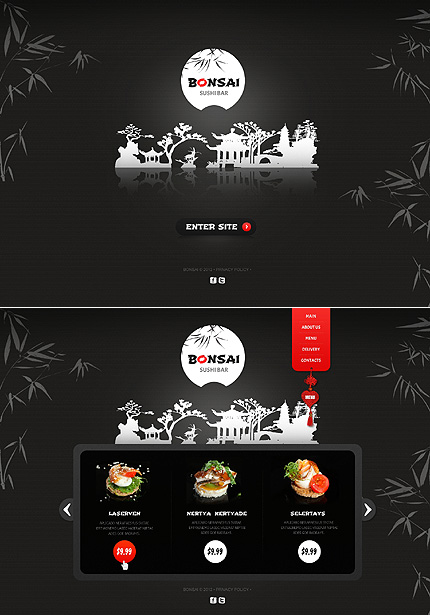 Website Template #Website design #40511