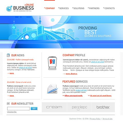 Website Template #Website design #9884