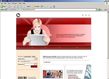 Website Template #Website design #9948