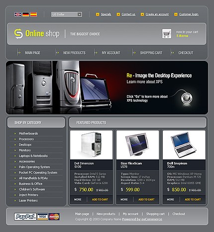Website Template #Website design #9972