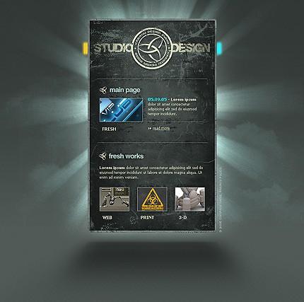 Website Template #Website design #9988