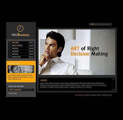 Website Template #Website design #9994