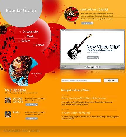 Website Template #Website design #9996